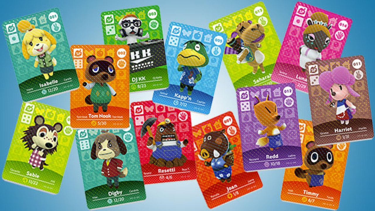 Almost All Animal Crossing Amiibo Cards Are Being Reprinted In Japan Nintendosoup