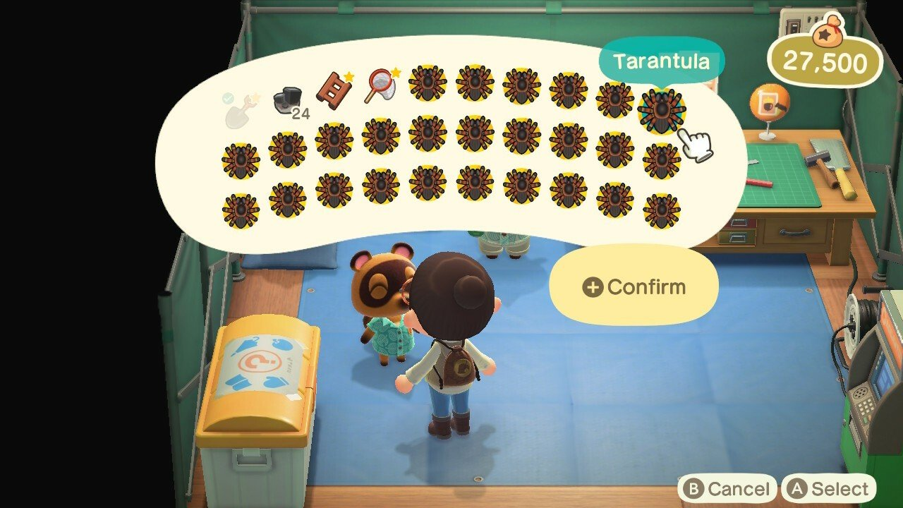 How To Fill Up A Mystery Island With Tarantulas In Animal Crossing