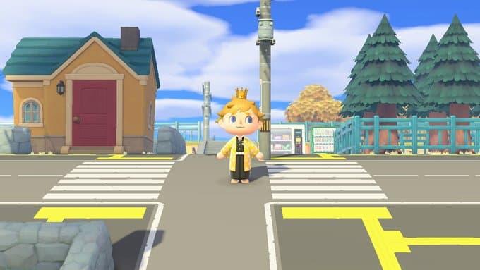 Fan Art Realistic Street In Animal Crossing New Horizons