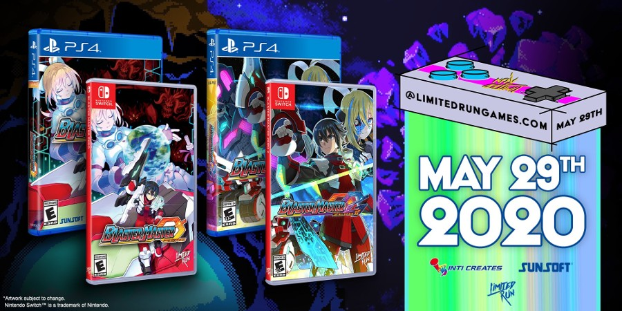 Limited Run Games Confirm Blaster Master Zero And Blaster Master Zero 2 Physical Releases | NintendoSoup