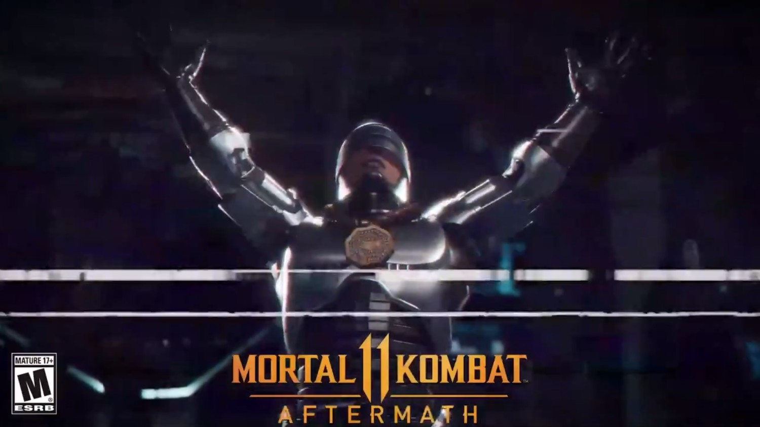 Here's A First Look At RoboCop's Friendship Finisher In Mortal Kombat 11: Aftermath | NintendoSoup
