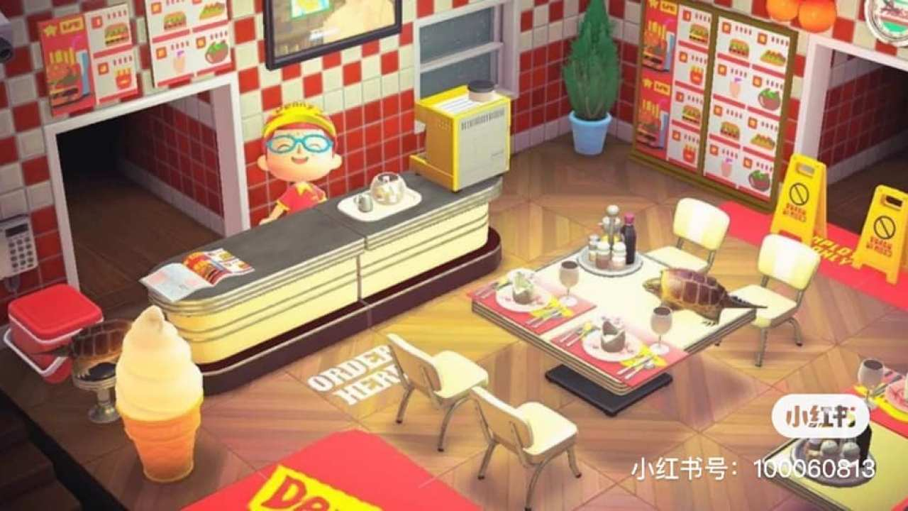 Build Your Own Mcdonald S Restaurant In Animal Crossing New