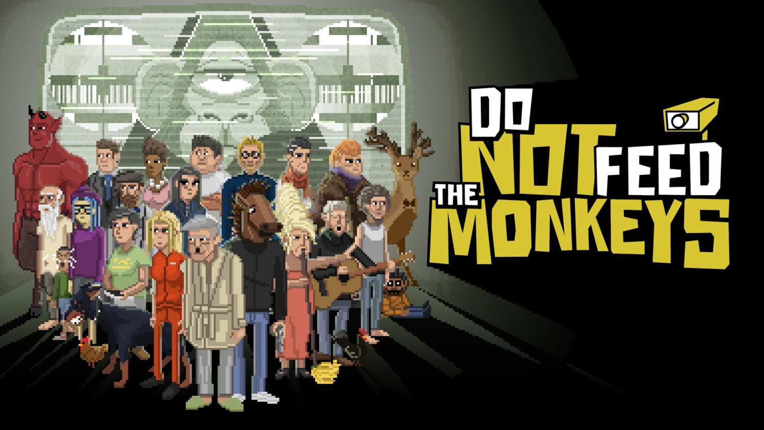 Do Not Feed The Monkeys Heading To Switch On June 1, 2020 | NintendoSoup