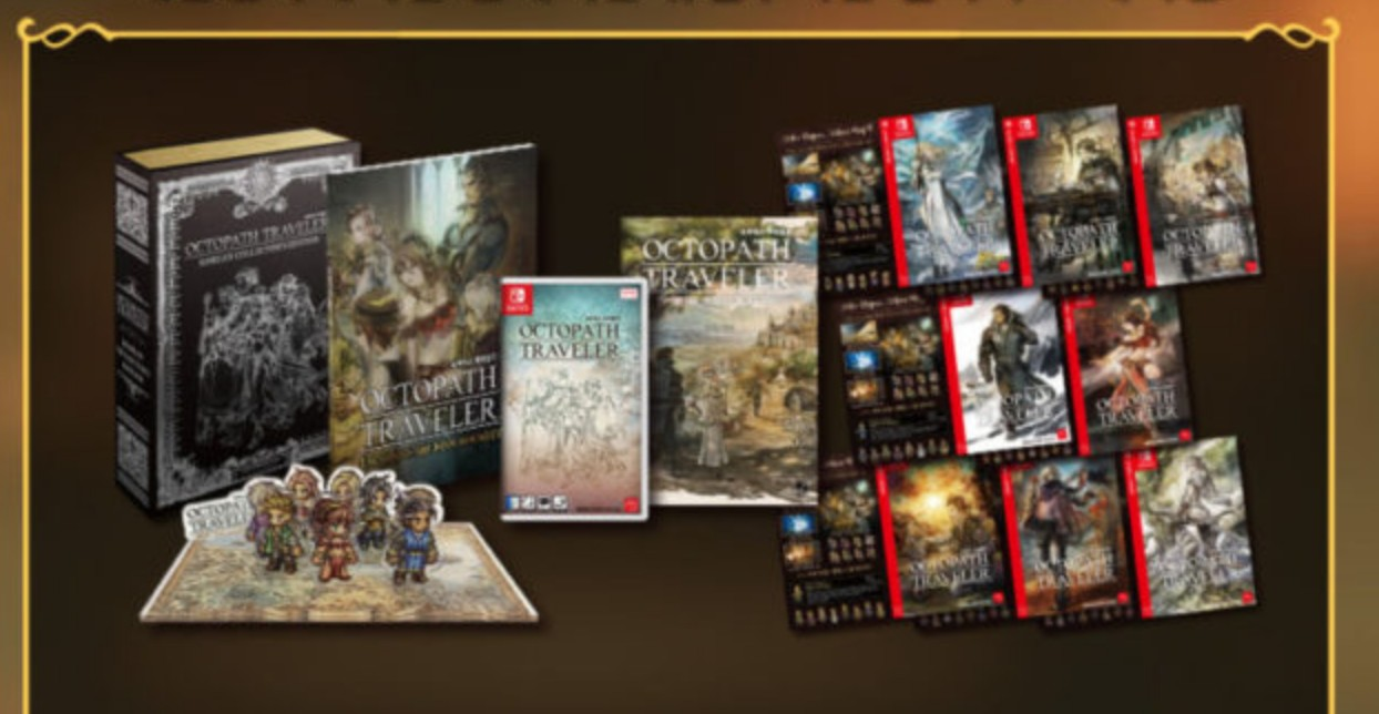 Octopath Traveler Is Getting A Really Cool Limited Edition In South Korea | NintendoSoup