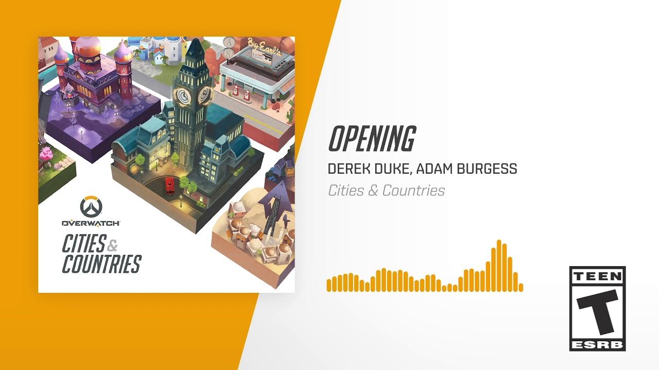 New collection of Overwatch music Overwatch: Cities & Countries is released