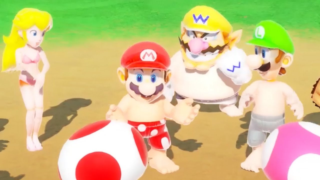 "Fan Creates Super Mario Party ""Beach Party Pack"""