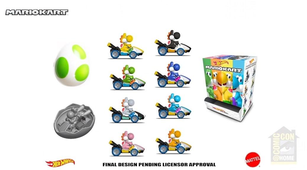Hot Wheels Reveals New Wave Of Mario Kart Toys Including Yoshi