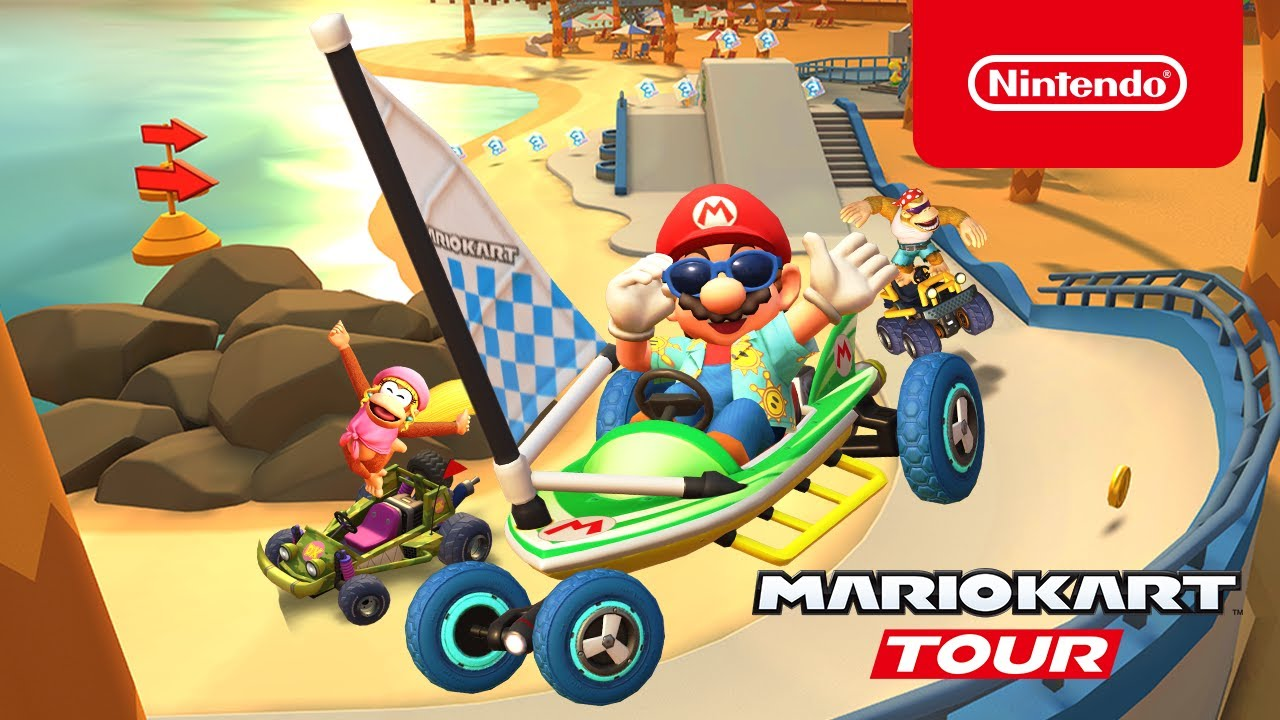Mario Kart Tour's Los Angeles Tour Now Live, Features Sunshine Mario | NintendoSoup