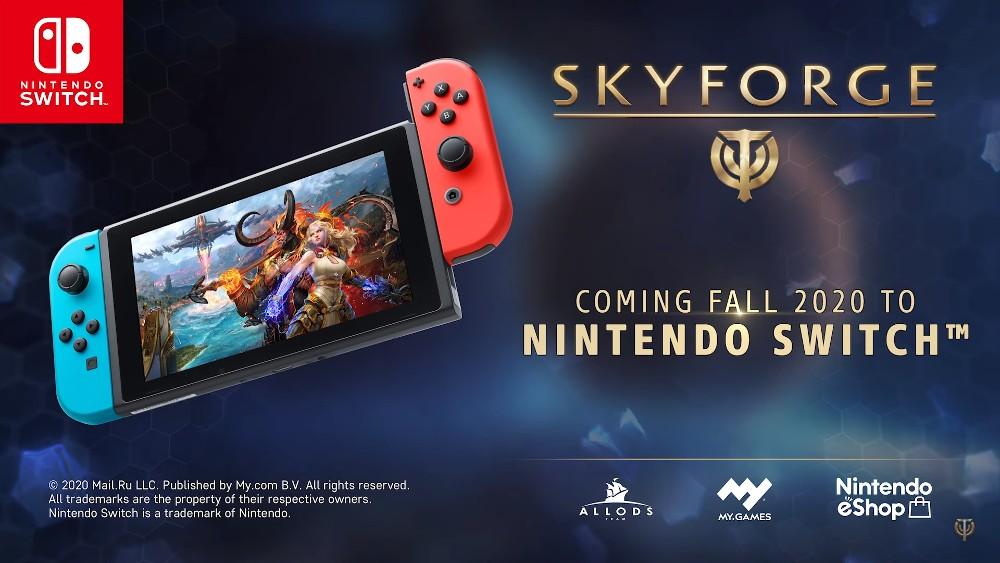 Skyforge Nintendo Switch Gameplay