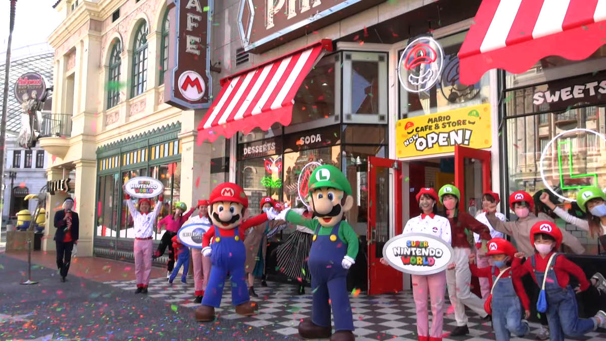 Check Out Some Videos Of The Mario Cafe & Store's Grand Opening At Universal Studios Japan | NintendoSoup
