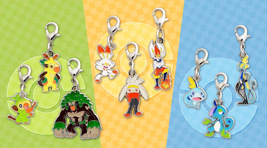 Japanese Pokemon Center Limited Metal Charm Poipole Naganadel Set