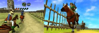 Link Riding Epona