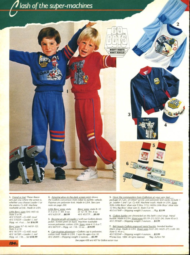Sears-1985 Gobotpajama