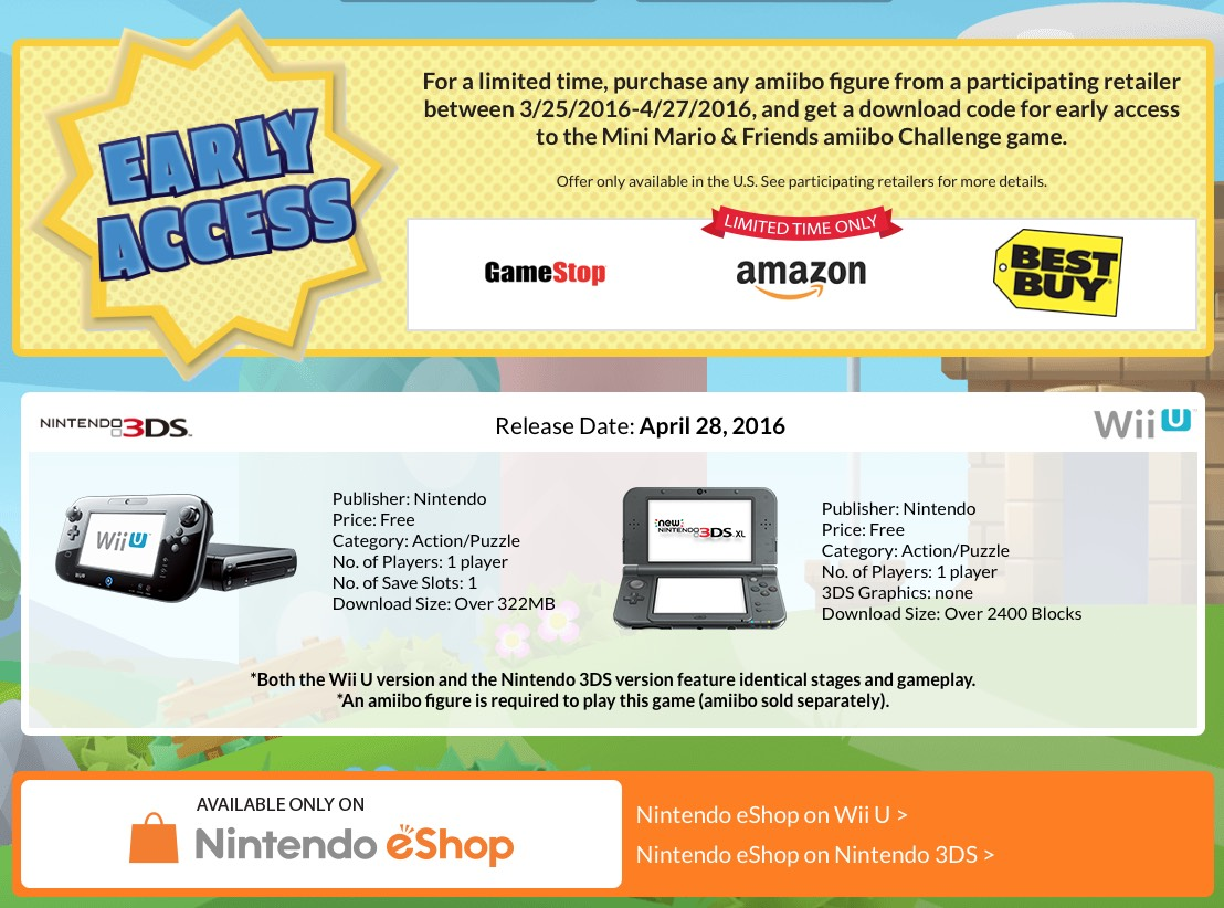 Mini Mario & Friends amiibo Challenge Preview – Nintendo Times