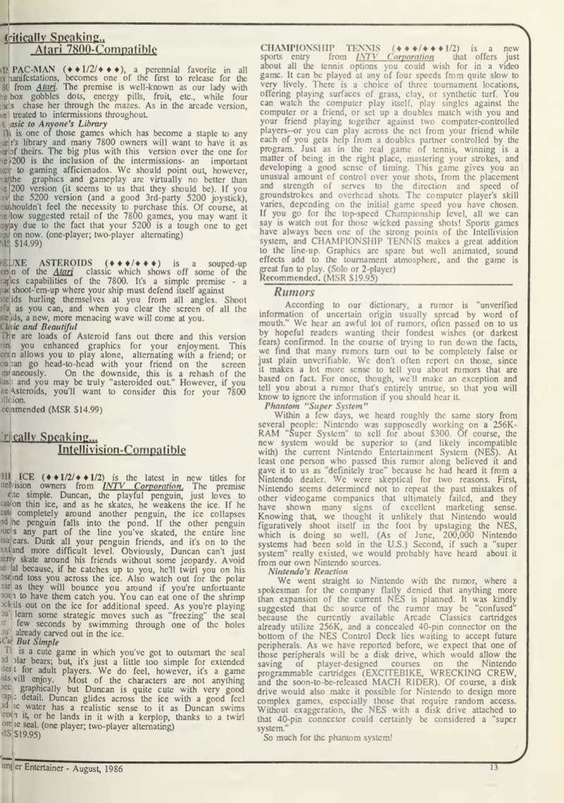 Computer Entertainer - August 1986-3