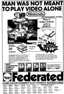NES Ad - Federated - 10-04-1986- OC Register - Credit Frank-Cifaldi