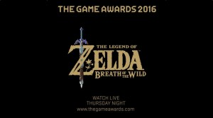 Zelda: Breath Of The Wild To Be Featured On Game Awards Pre-Show