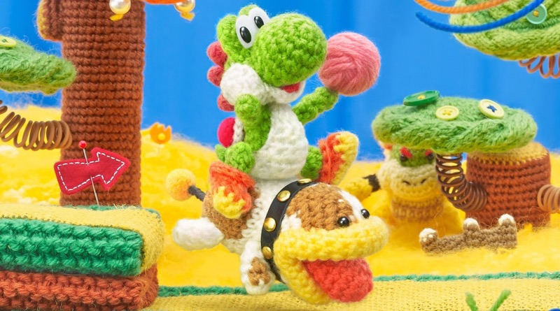 Yet Another Poochy & Yoshi's Woolly World Trailer