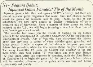Commando Code - Computer Entertainer - February 1987 - Pg 11