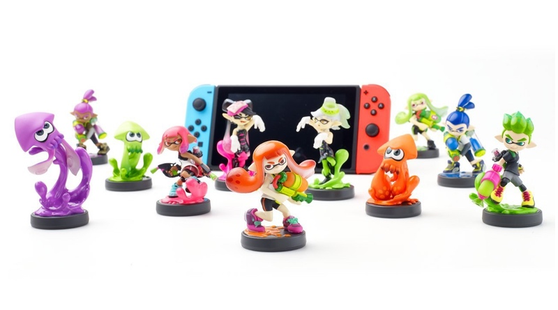 Image result for splatoon 2 amiibo content