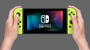 Closer Look At The Upcoming Neon Yellow Joy-Cons