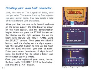 The Legend of Zelda Instruction Booklet - 11