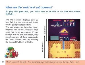 The Legend of Zelda Instruction Booklet - 17