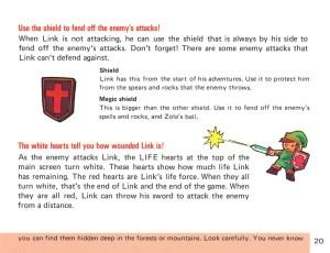 The Legend of Zelda Instruction Booklet - 20