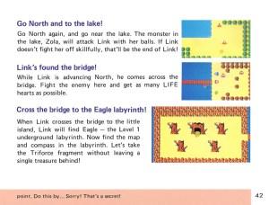 The Legend of Zelda Instruction Booklet - 42