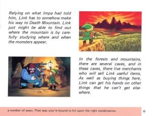 The Legend of Zelda Instruction Booklet - 6