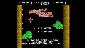 Legend of Kage (NES) Game Hub