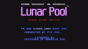 Lunar Pool (NES) Game Hub
