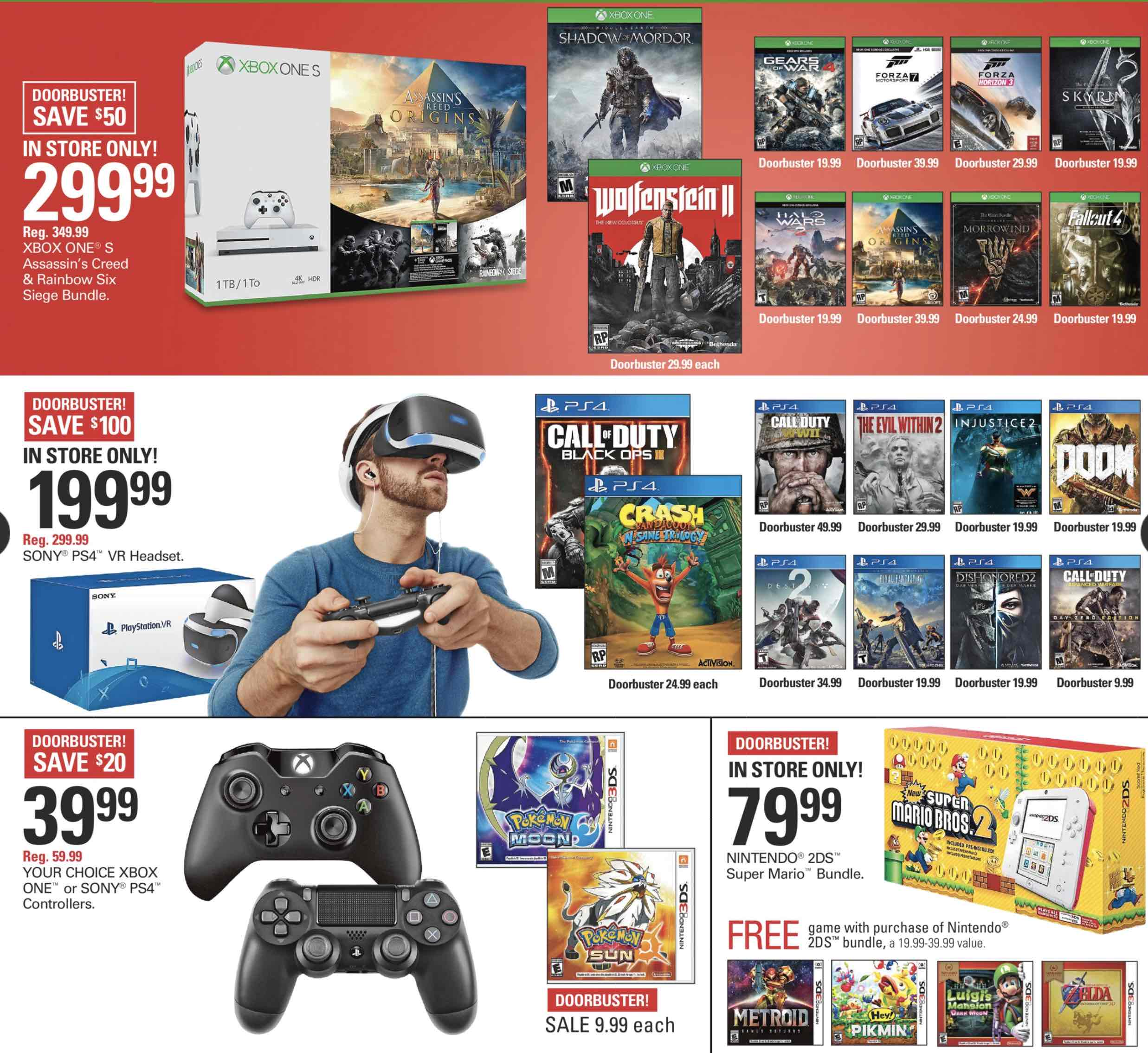 Target Shopko Black Friday Video Game Deals Nintendo Times 3ds Metroid Samus Returns Special Edition Reg Us