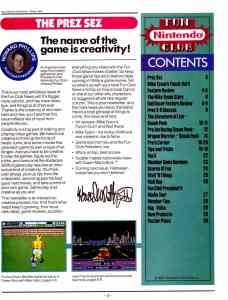 NIntendo Fun Club News   Winter 1987 - 3