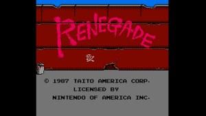 Renegade (NES) Game Hub