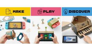 VIDEOS: Nintendo Labo Hands-On Impressions & New Footage