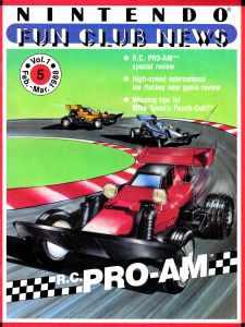 Nintendo Fun Club News   Feb-Mar 1988 Cover