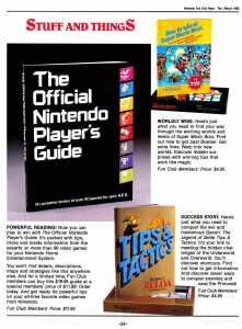Nintendo Fun Club News   Feb-Mar 1988 Stuff
