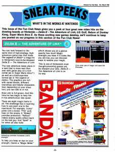 Nintendo Fun Club News | Feb-Mar 1988 Zelda 2-1