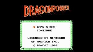 Dragon Power (NES) Game Hub