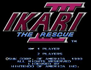 Ikari III - The Rescue (Home) 01