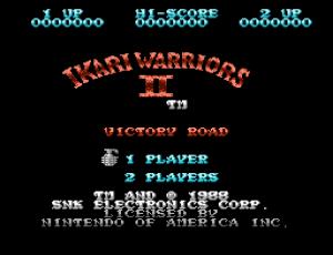 Ikari Warriors II - Victory Road (Home) 01