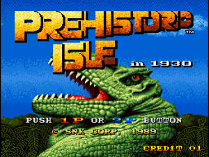 Prehistoric Isle in 1930 (Arcade) 01