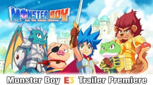 Monser Boy And The Cursed Kingdom E3 Trailer