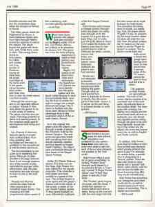 Computer Gaming World | July 1988 pg 45