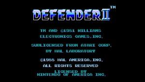 Defender II (NES) Game Hub