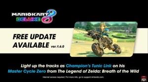 Mario Kart 8 Deluxe Gets New Zelda: Breath Of The Wild Content