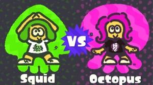 Global Splatfest Pits Team Squid Against Team Octopus