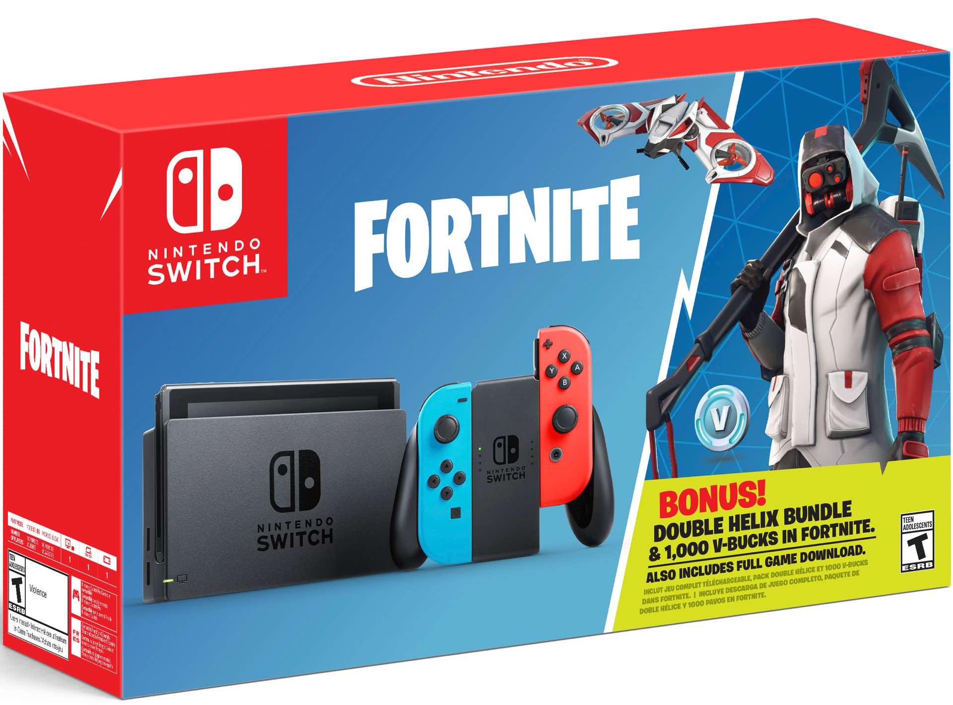 Nintendo Goes Bundle Crazy Fortnite Switch Bundle Makes Number 4