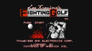 Lee Trevino's Fighting Golf (NES) Game Hub